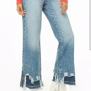 f21 flare boot cut jeans